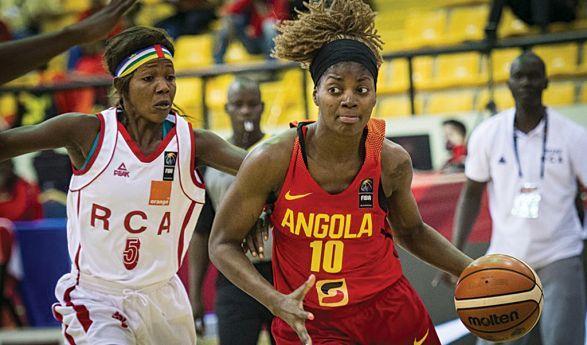 - Basket femenino - Angola invicta na primeira fase do Africano