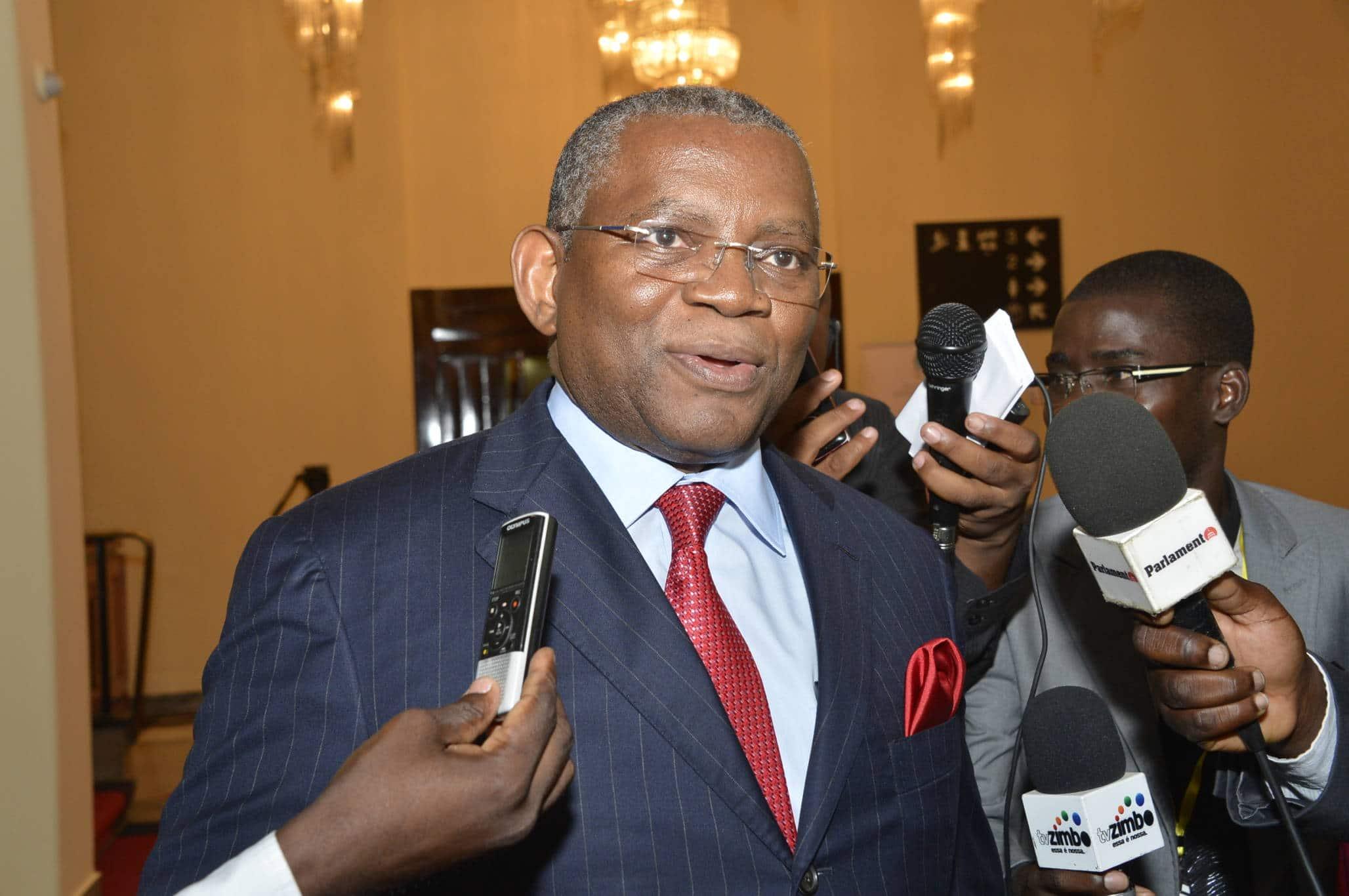 - george chicote ministro das relaoes exterior - Georges Chikoti é candidato para Secretário-Geral do Grupo de países da África, Caraibas e Pacífico