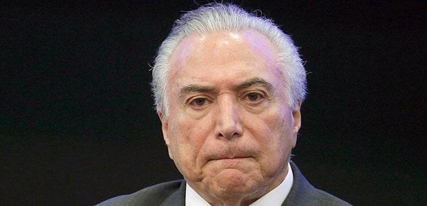- Temer - Ex-presidente brasileiro Michel Temer foi detido