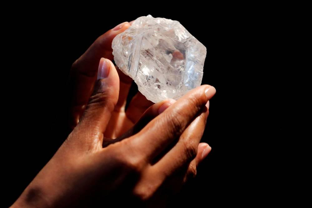 - maior diamante mundo - Governo vai contratar três especialistas para avaliar diamantes
