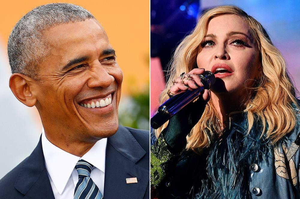 Madonna fala de sonhos eróticos com Obama em programa de TV - obama madonna - Madonna fala de sonhos eróticos com Obama em programa de TV