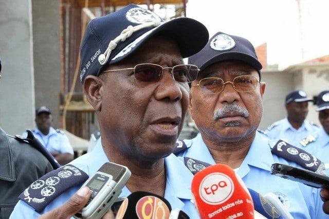 polícia vai reforçar patrulhamento para coibir raptos - Comandante da Policia Nacional Ambr  sio de Lemos - Polícia vai reforçar patrulhamento para coibir raptos