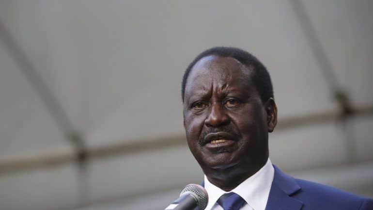 quénia: líder da oposição promete manter contestação ao resultado das eleições - Raila Odinga - Quénia: Líder da oposição promete manter contestação ao resultado das eleições