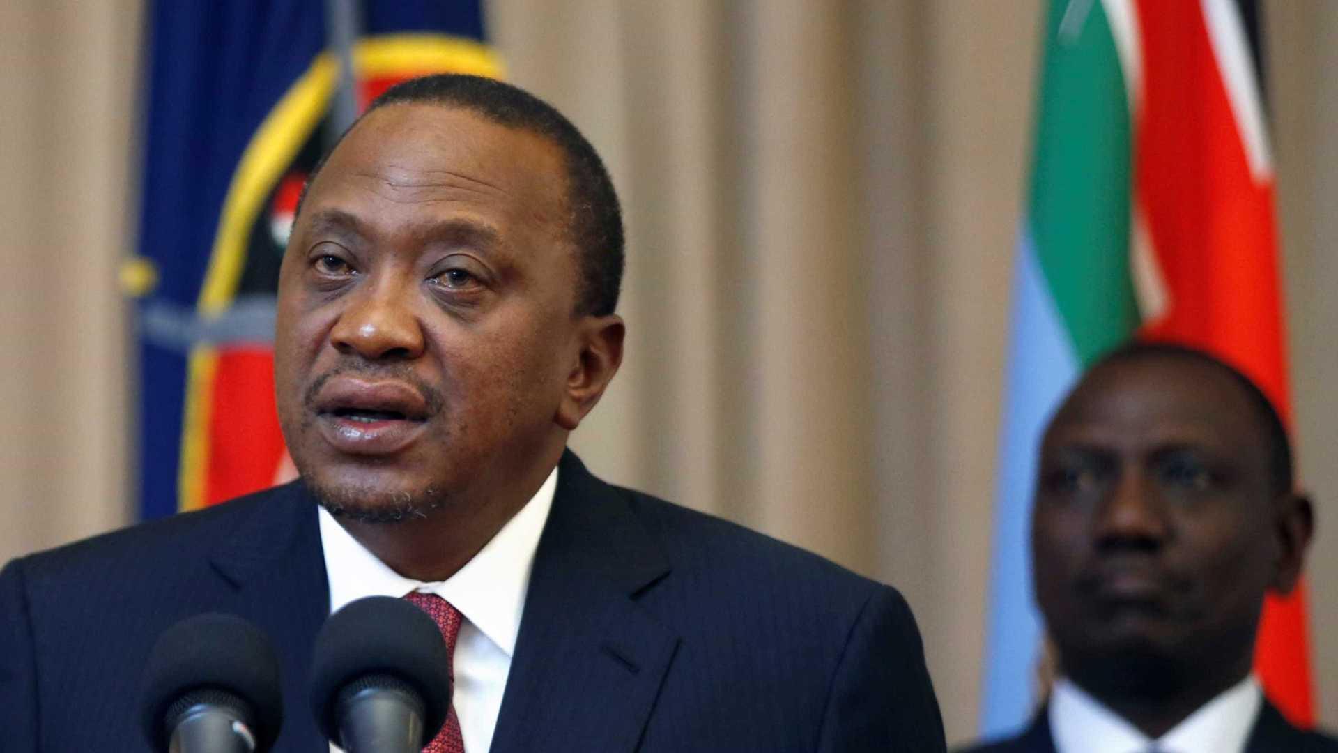 presidente do quénia reeleito com 98,26% dos votos - queniata - Presidente do Quénia reeleito com 98,26% dos votos
