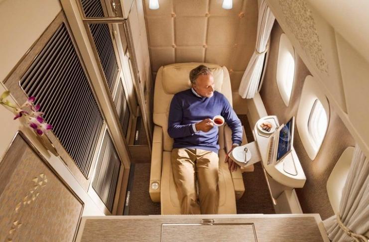 a nova cabine de primeira classe da emirates é um verdadeiro luxo - 1 clase Emirates 1 - A nova cabine de primeira classe da Emirates é um verdadeiro luxo
