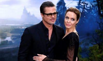 angelina jolie rejeita oferta de 80 milhões de dólares para assinar divórcio de brad pitt - Brad pitt e Angelina Jolie 400x240 - Angelina Jolie rejeita oferta de 80 milhões de dólares para assinar divórcio de Brad Pitt