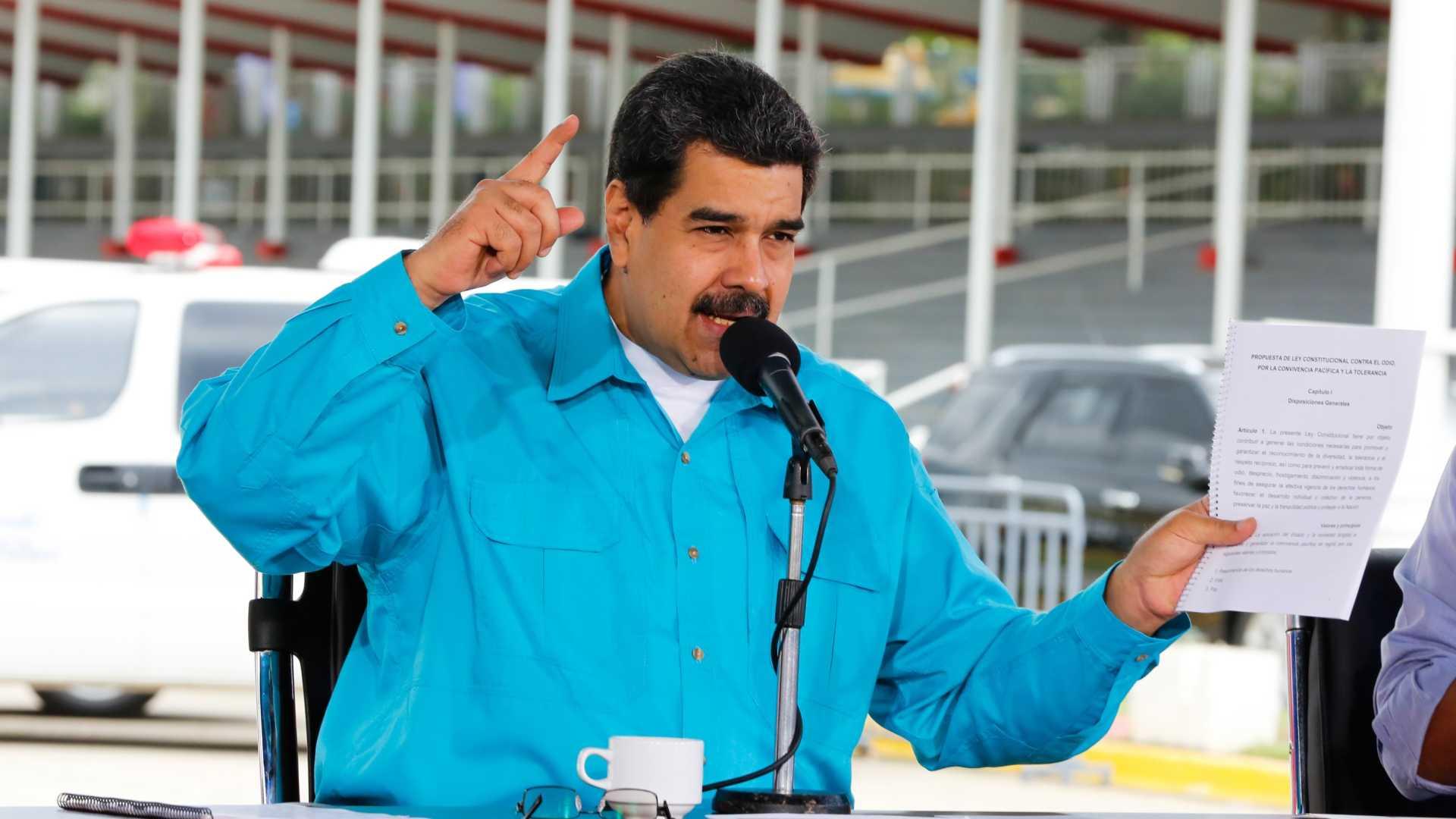 """maduro diz que as sanções da união europeia """"são estúpidas"""" - MADURO - Maduro diz que as sanções da União Europeia """"são estúpidas"""""""