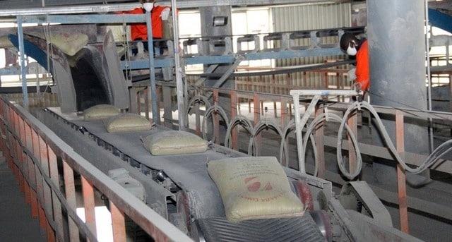 - cimento - Fábrica de Cimento do Cuanza Sul reduz produção por falta de clientes