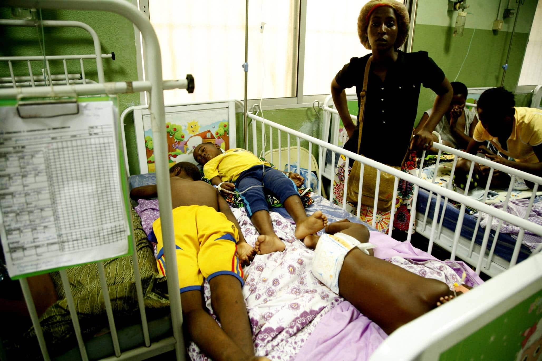 - hospital peditrico david bernardino 14 - Malária representa 20% dos internamentos em Angola