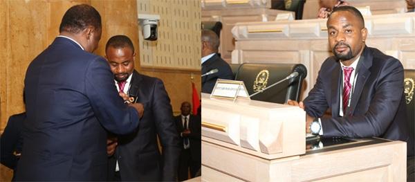 nelito ekuikui eleito vogal do conselho de administração da assembleia nacional - nelito Ekuikui - Nelito Ekuikui eleito vogal do Conselho de Administração da Assembleia Nacional