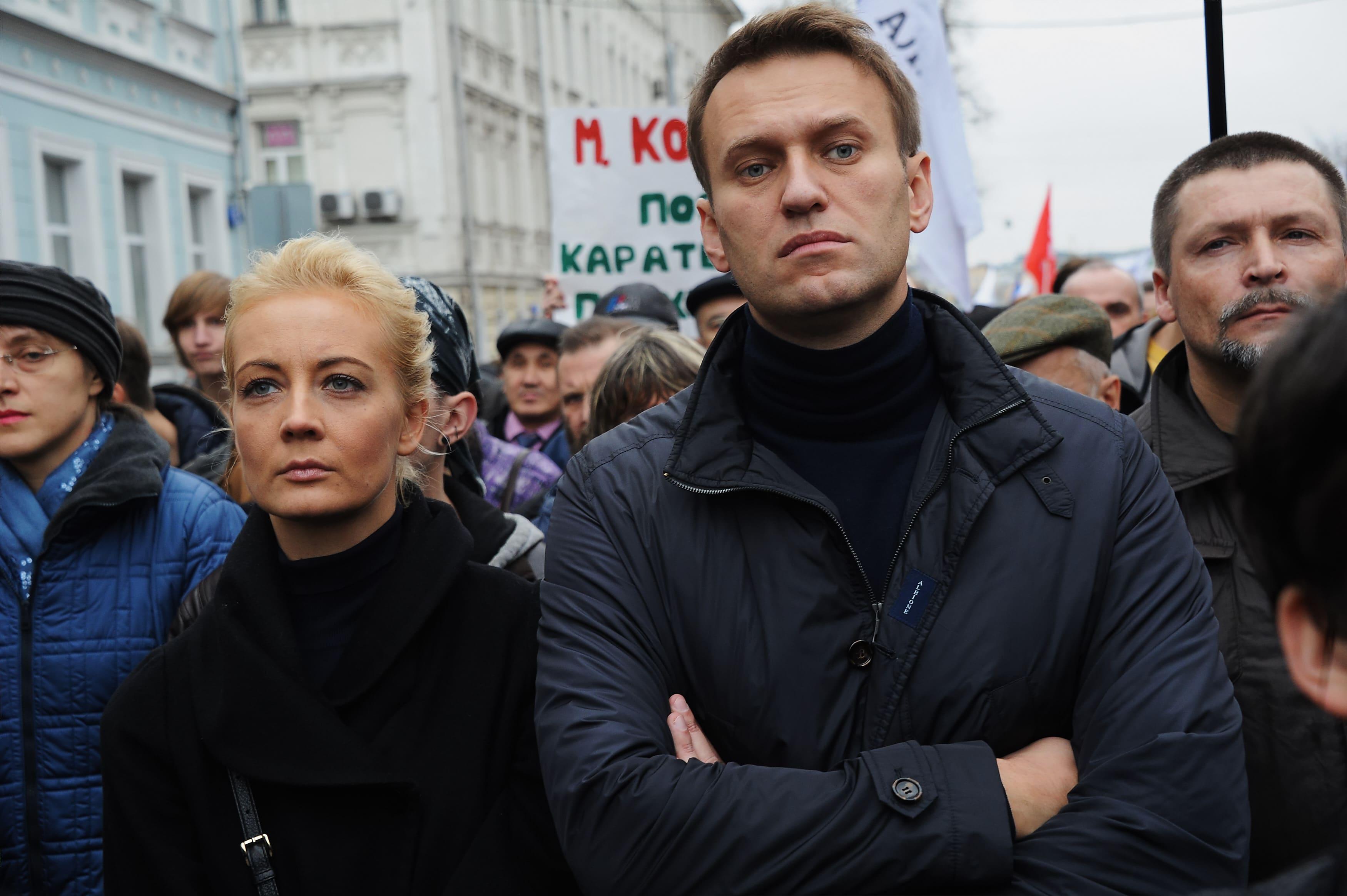 líder da oposição russa foi libertado - Alexei Navalny - Líder da oposição russa foi libertado