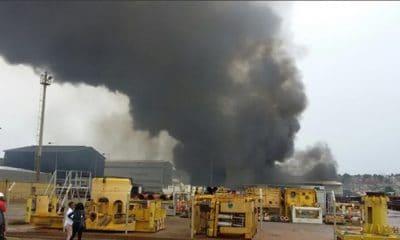 apesar de incêndio, base logística da sonils continua operacional - image 1 400x240 - Apesar de incêndio, base logística da SONILS continua operacional