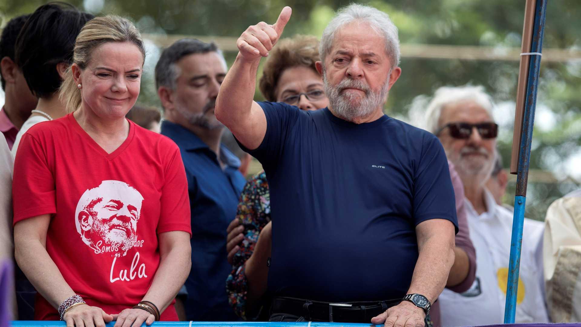líder do pt diz que existem provas suficientes para libertar lula - lula PT - Líder do PT diz que existem provas suficientes para libertar Lula