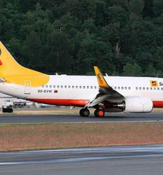 [object object] - sonair 560x600 - Sonair vai suspender voos a Malanje por falta de passageiros