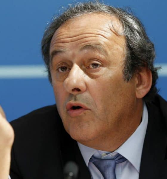 - platini 560x600 - Michel Platini foi preso por suspeitas de corrupção