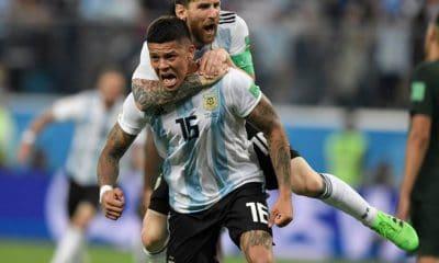 messi e rojo colocam a argentina nos oitavos de final - MESSI E ROJO 400x240 - Messi e Rojo colocam a Argentina nos oitavos de final