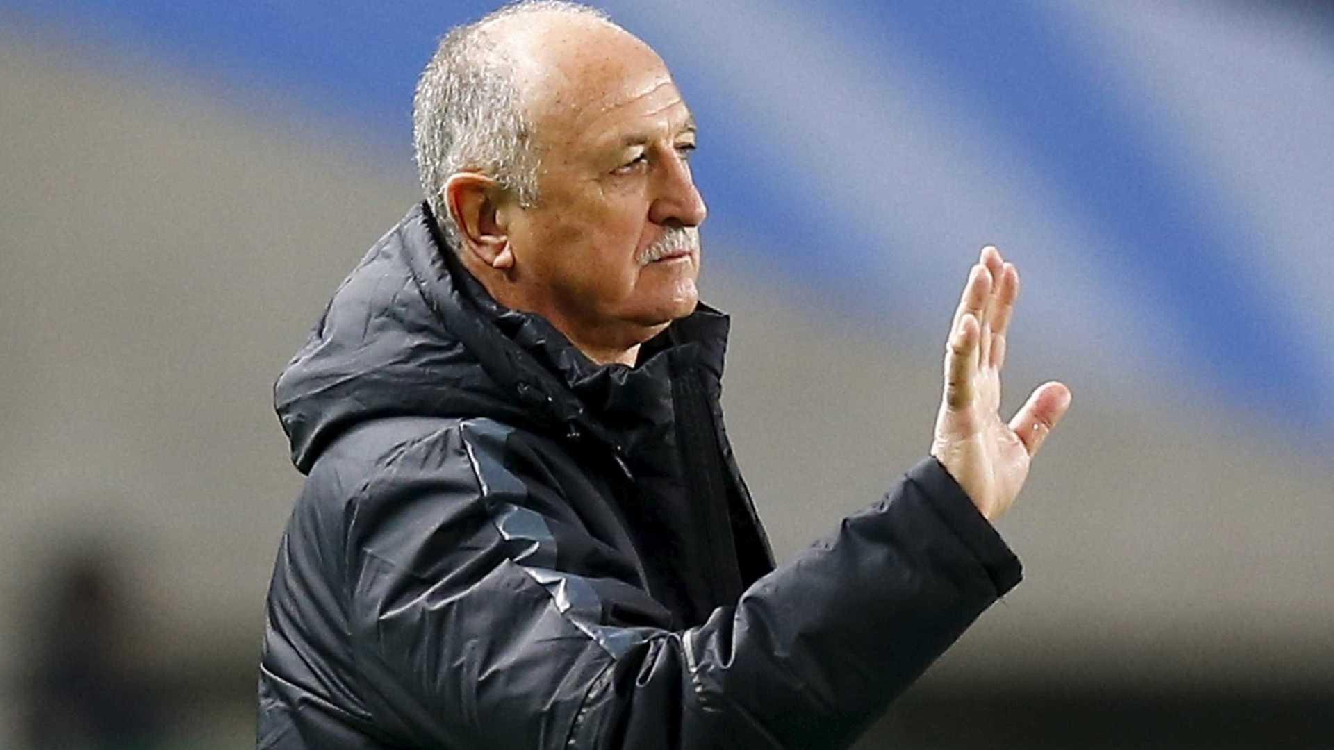 - Scolari - Luiz Felipe Scolari despedido do Palmeiras