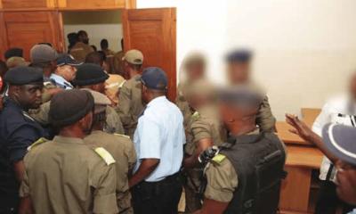 - policia 400x240 - Escolta do Ministro do Interior levado as barras do tribunal