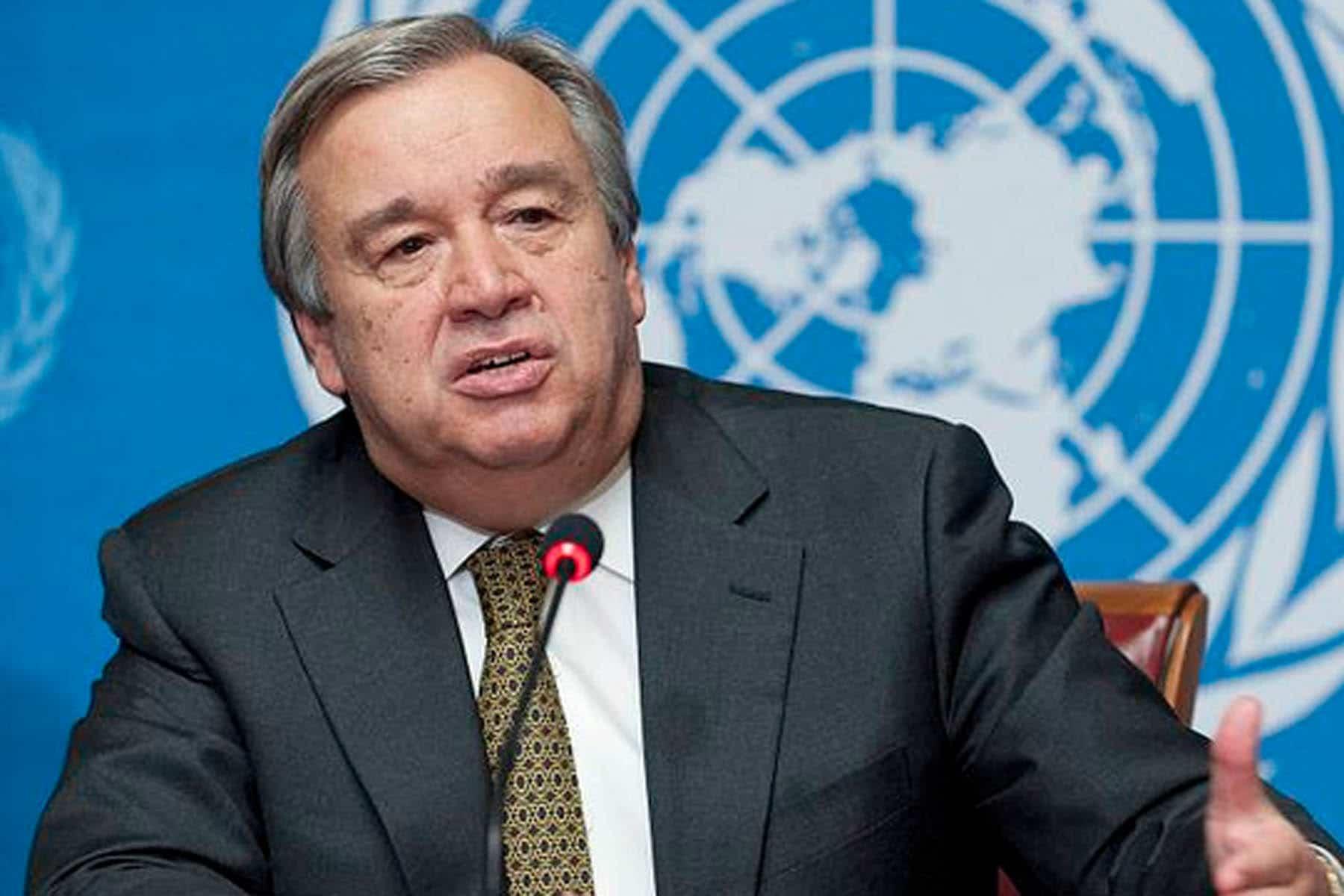 secretário-geral da onu renova oferta de mediar crise na venezuela - 3 guterres - Secretário-geral da ONU renova oferta de mediar crise na Venezuela