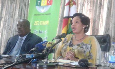 comissão eleitoral do zimbabwe apela às pessoas a não confiarem nos resultados eleitorais que circulam nas redes sociais - Priscilla Chigumba ZEC Zimbabue 400x240 - Comissão eleitoral do Zimbabwe apela às pessoas a não confiarem nos resultados eleitorais que circulam nas redes sociais