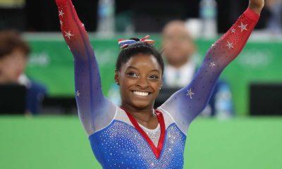 - Simone Biles 400x240 - Simone Biles conquista inédito tetracampeonato mundial de ginástica