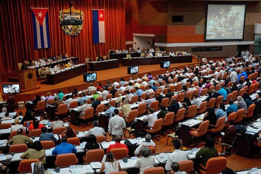 - cuba parlamento - Parlamento cubano aprova versão final da nova Constituição