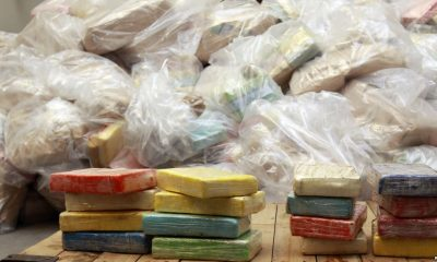 - DROGA 400x240 - Cerca de 850 quilos de cocaína e outras drogas pesadas queimadas pelo SIC em Luanda
