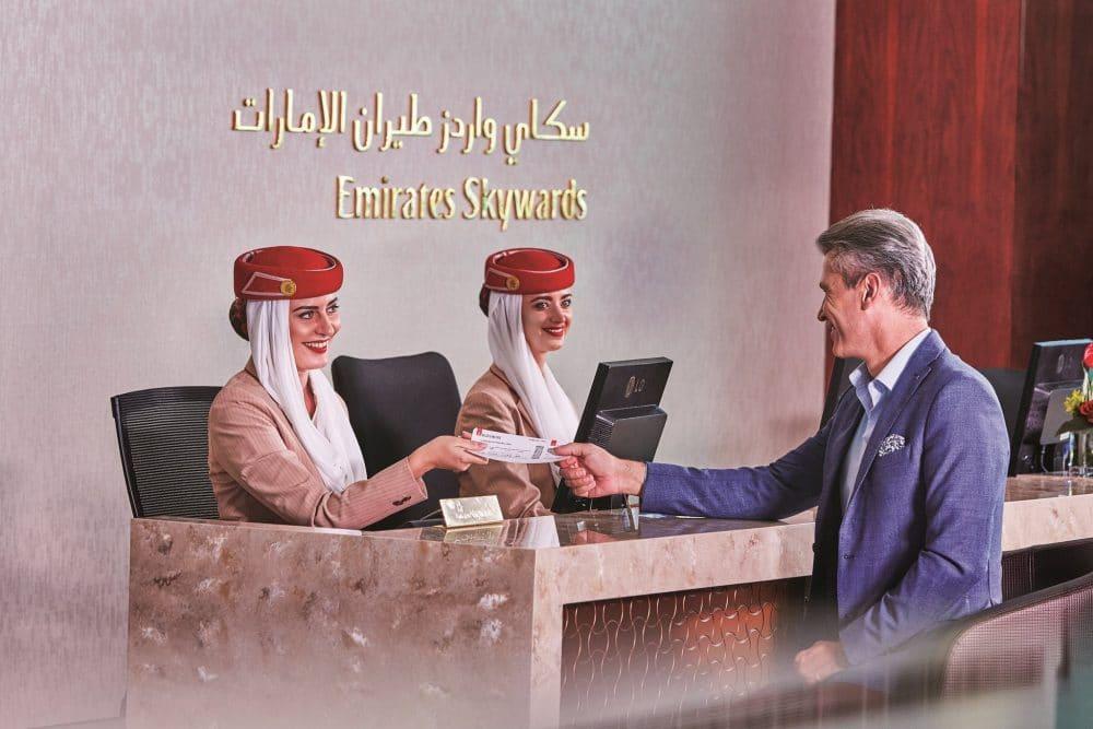 """- Emirates Skywards e1533553101359 - Emirates apresenta o primeiro """"caminho biométrico"""" integrado do mundo"""