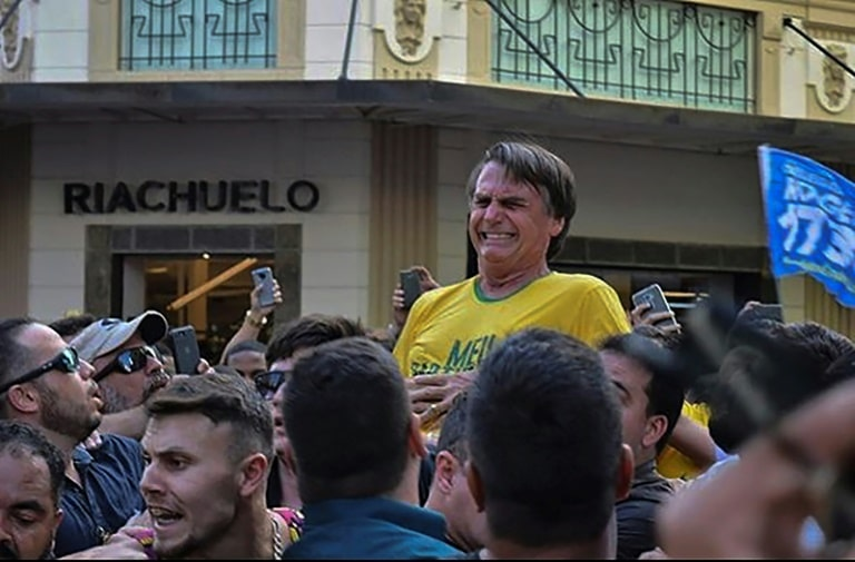 jair bolsonaro esfaqueado durante campanha - Jair Bolsonaro esfaqueado - Jair Bolsonaro esfaqueado durante campanha