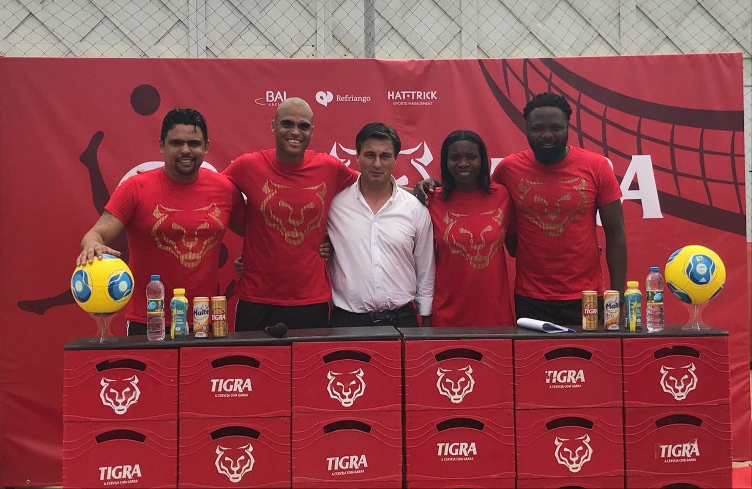 estrelas do futebol nacional na copa tigra futevolei - Rafael Kali Figueiredo Irene Dede - Estrelas do Futebol Nacional na Copa Tigra Futevolei