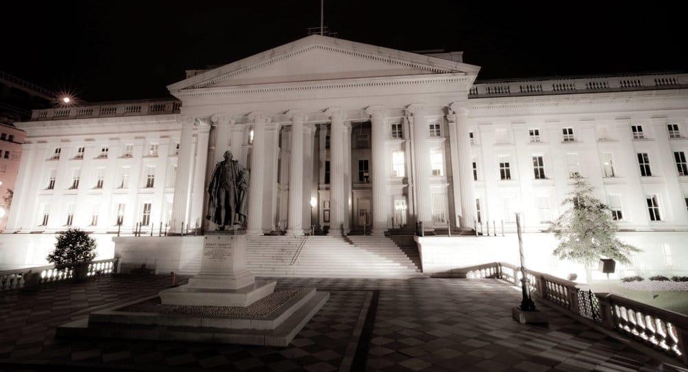 - Departamento do Tesouro dos Estados Unidos - Déficit orçamental nos EUA é de US$ 779 mil milhões, mais alto desde 2012