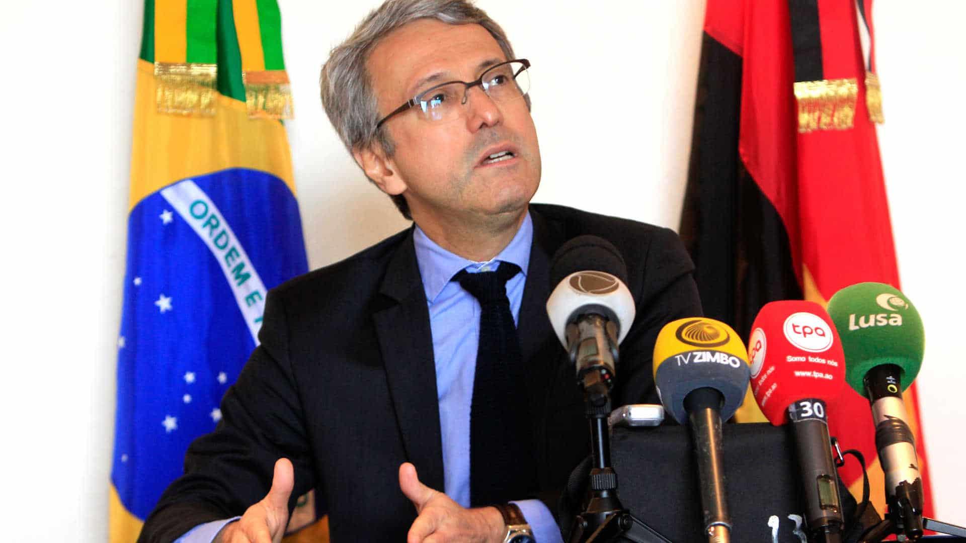 """- Embaixador Brasil em Angola - """"Políticas para África vão continuar"""", diz embaixador do Brasil em Angola"""