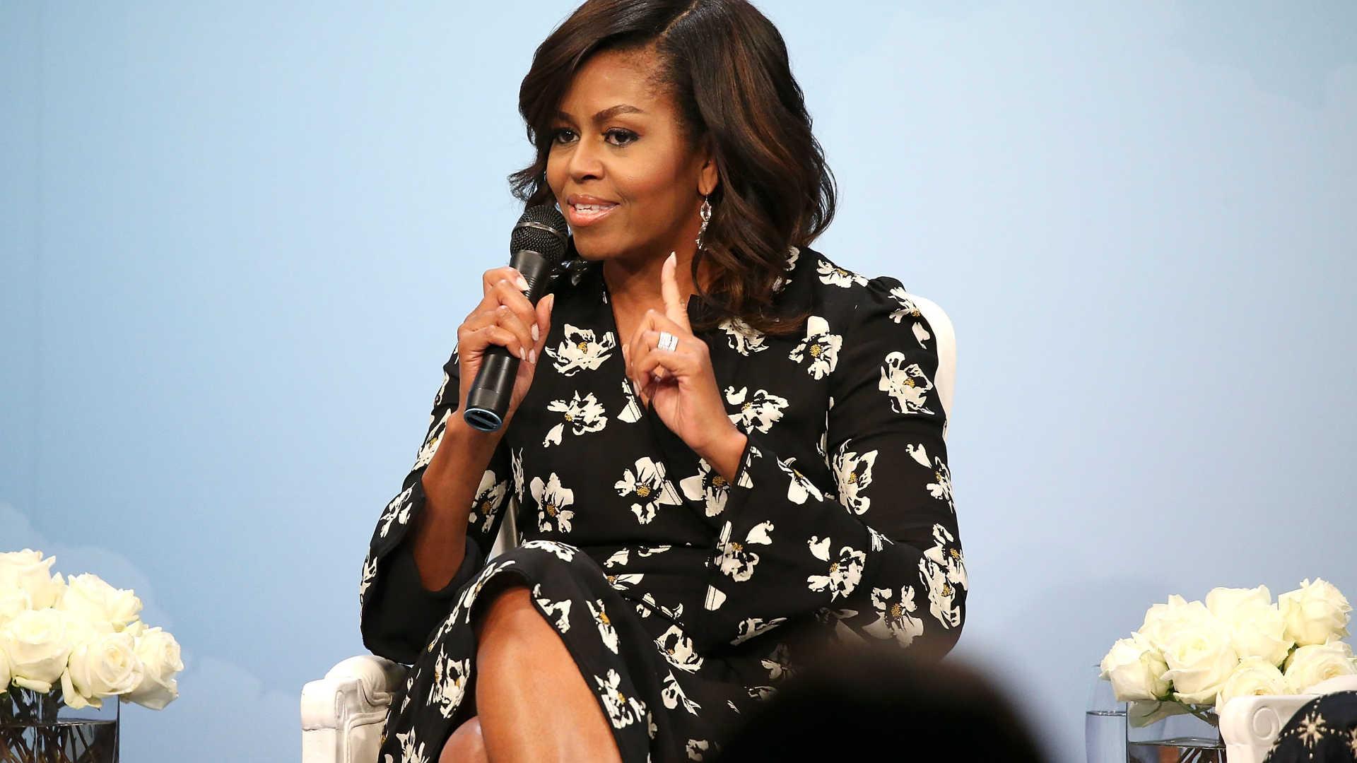 michelle obama volta a garantir que não é candidata a presidente dos eua - Michelle Obama - Michelle Obama volta a garantir que não é candidata a presidente dos EUA