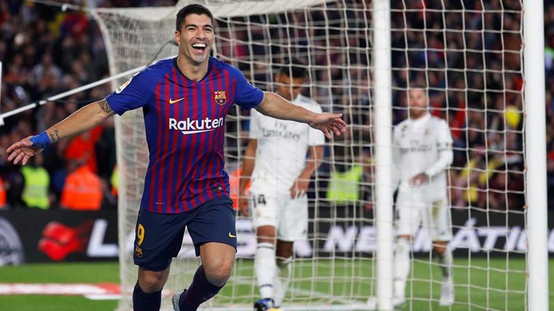 - Suarez Barcelona - Barcelona humilha Real Madrid com uma mão cheia de golos