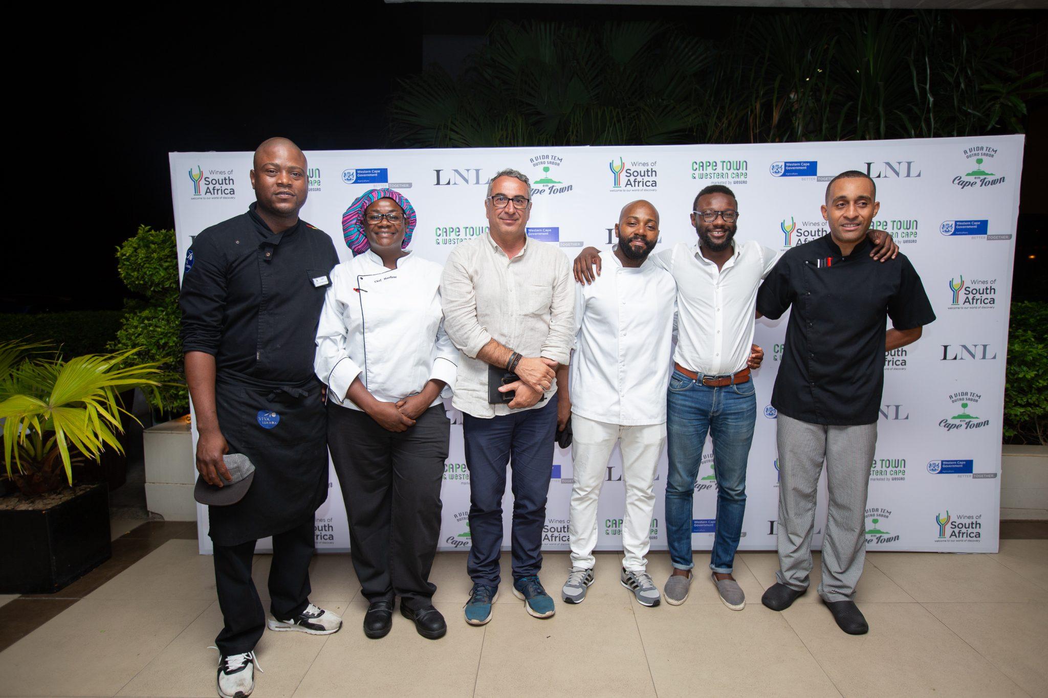 - Wesgro LNL - Wesgro promove degustação de vinhos no Angola Restaurant Week