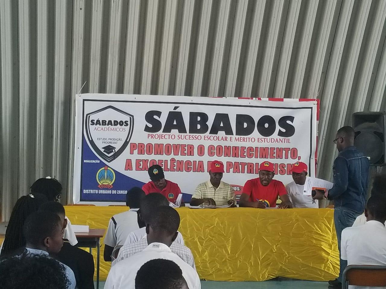 """- WhatsApp Image 2018 10 20 at 11 - JMPLA realiza com êxito """"Sábados Académicos"""" nos distritos de Luanda"""
