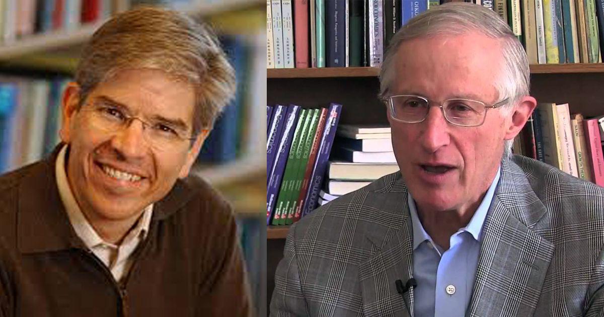 william d. nordhaus e paul romer vencem prémio nobel da economia - William D - William D. Nordhaus e Paul Romer vencem Prémio Nobel da Economia