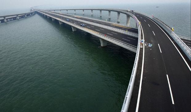 - ponte620 - China inaugura a maior ponte do mundo