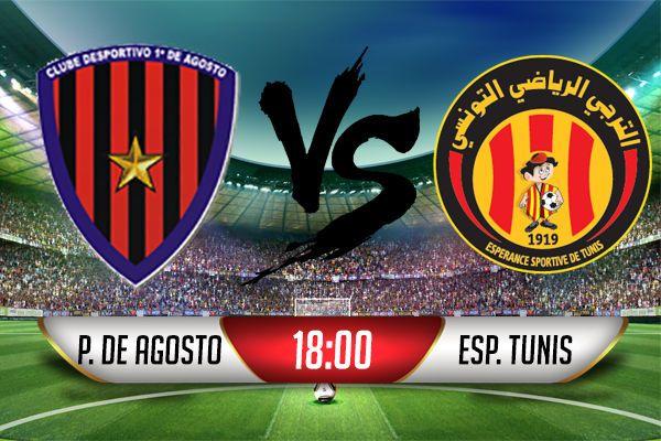 d'agosto vence esperance de tunis - primeiro de agosto vs esperance tunis - D'Agosto vence Esperance de Tunis