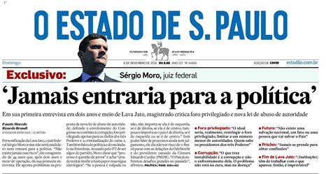 """- 45119133 2442540885759592 5329827137551597568 n - """"Não sou um homem da política"""", disse juiz brasileiro Sergio Moro em 2016"""