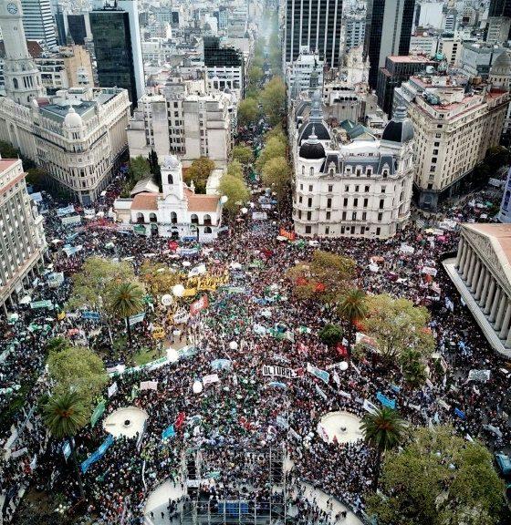 - MAnifesta    o Boenos Aires 560x576 - Movimentos sociais preparam protesto contra o G-20 em Buenos Aires