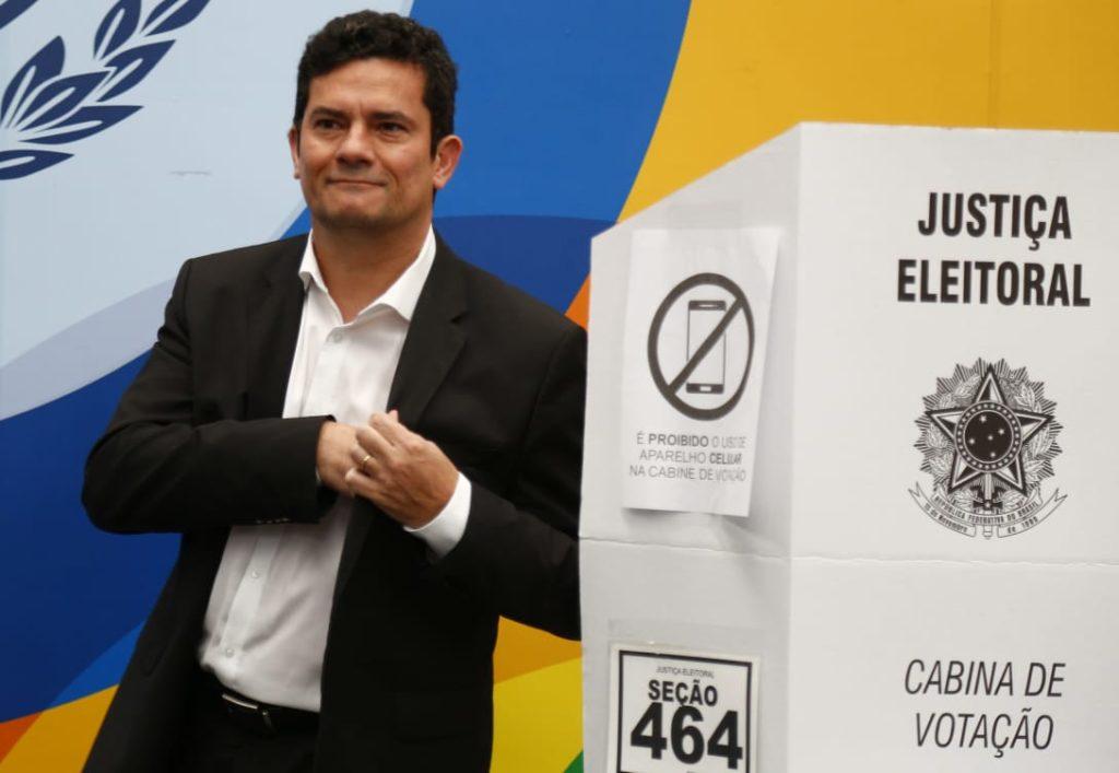 """- Sergio Moro - """"Não sou um homem da política"""", disse juiz brasileiro Sergio Moro em 2016"""