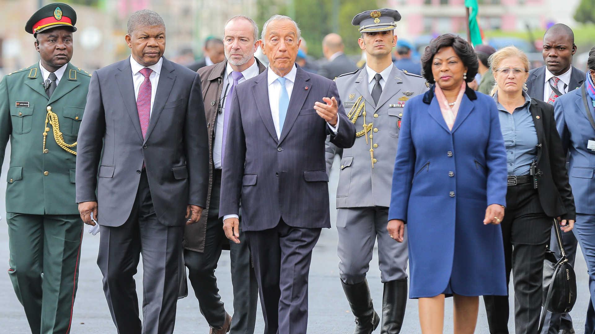 - jlo em portugal - João Lourenço inicia visita oficial a Portugal