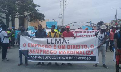 - 5CEB171F 2328 4D62 8318 01050564A513 400x240 - Manifestação contra o desemprego congrega mais de 500 Jovens em Luanda