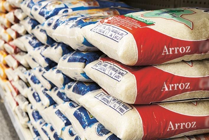 - Arroz - Angola só produz 6% do arroz que consome