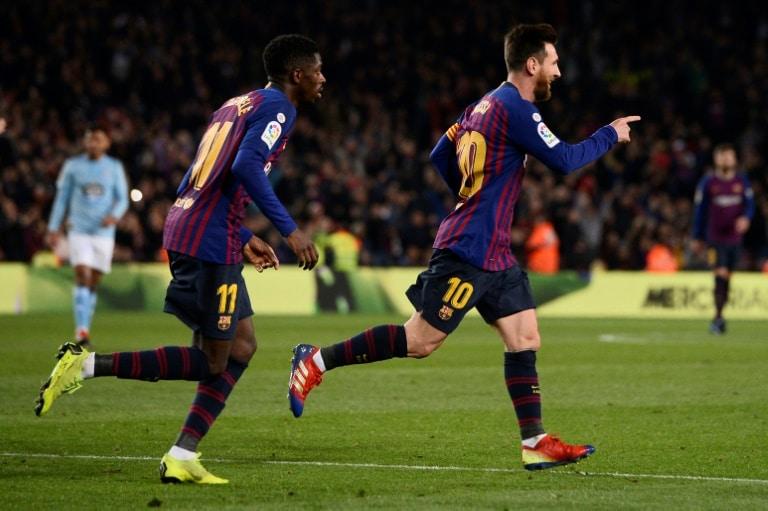 - Barcelona - Barcelona vence Celta e termina ano na liderança do Campeonato Espanhol