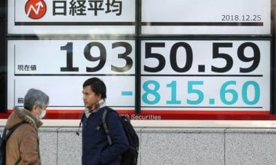 - Bolsa Toquio 1 400x240 - Bolsa de Tóquio desaba por incerteza nos Estados Unidos