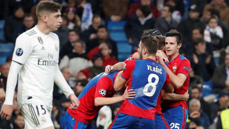 - CSKA e Real Madrid - Real Madrid humilhado em casa pelo CSKA Moscovo