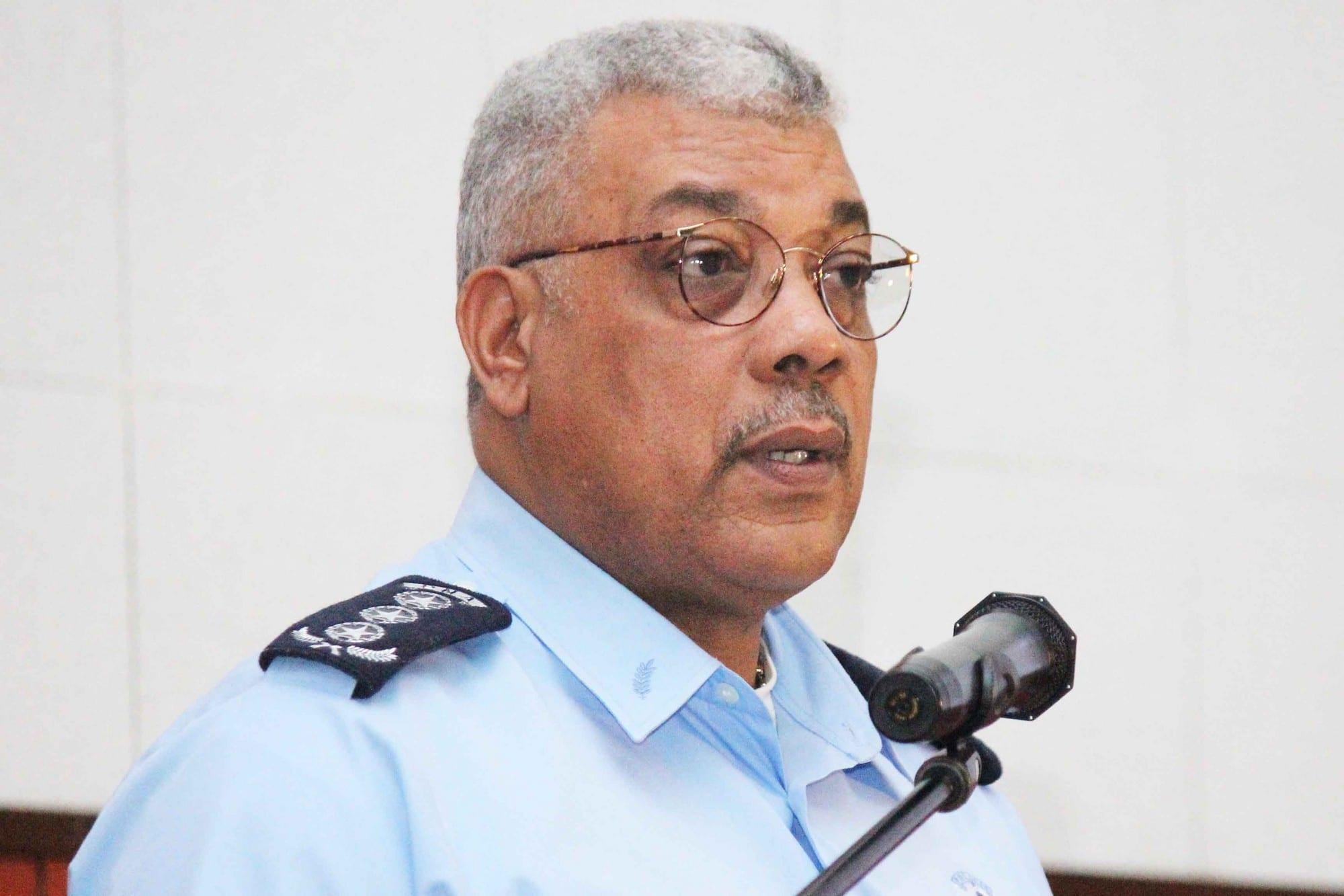 - Comiss  rio Chefe Salvador Jos   Rodrigue - Segundo Comandante Geral da Polícia Nacional exonerado