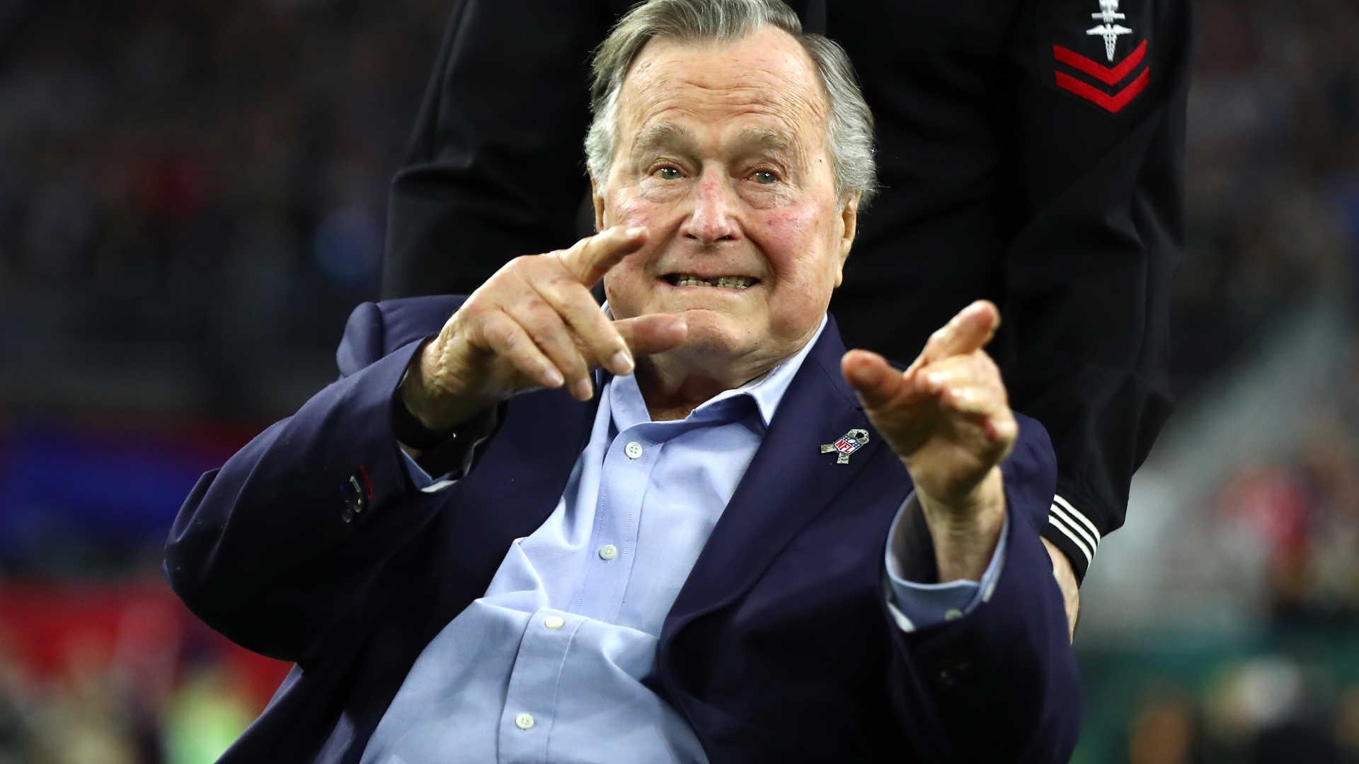 - George H - Morreu George H. W. Bush, antigo presidente dos EUA